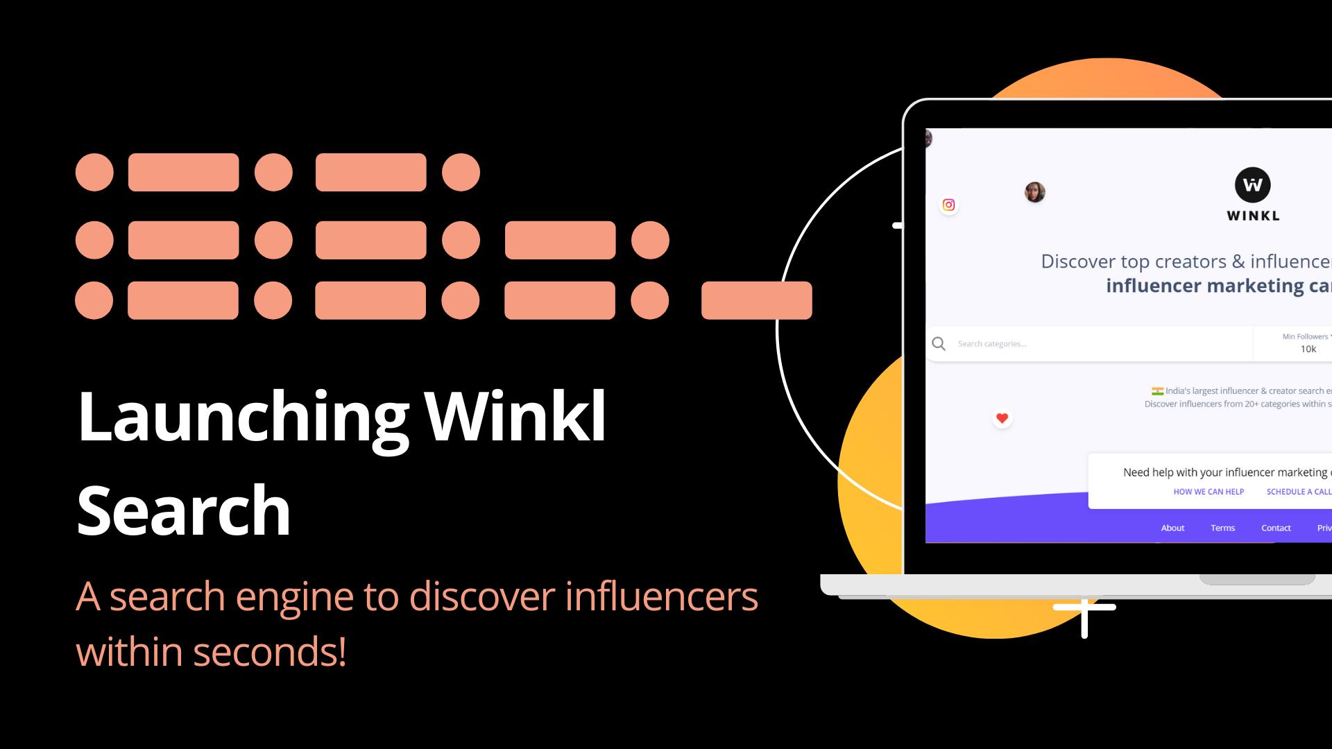 Democratizing Influencer Marketing : Winkl Search image
