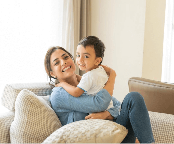 Nisha Aggarwal for Kiddopia influencer marketing campaign content