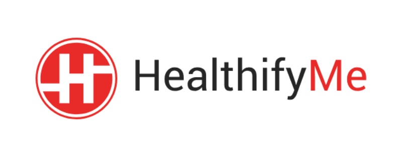 Healthifyme logo. Healthifyme collaboration with winkl for their influencer marketing campaigns