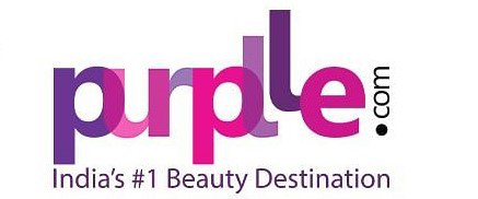 Purplle Logo. Purplle collaboration with Winkl for their influencer marketing campaign