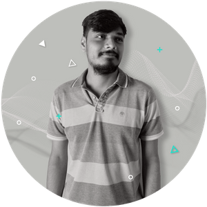 Aditya's profile picture. Web development intern at Winkl